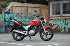 Jacqui Madelin found the new Honda CB125 easy on the wallet to run.