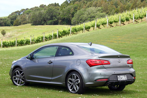 Kia Koup Turbo has been launched in New Zealand