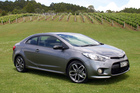 The Cerato Koup is Kia's first turbocharged petrol production car to be sold in New Zealand.