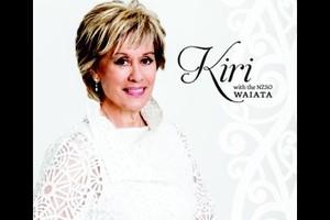 CD cover: Waiata by Kiri Te Kanawa.