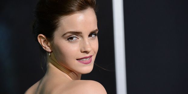 Emma Watson has admitted she feels undeserving of her success. Photo / AP