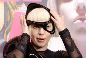 Singer Lady Gaga attends her ARTPOP album release. Photo / AP