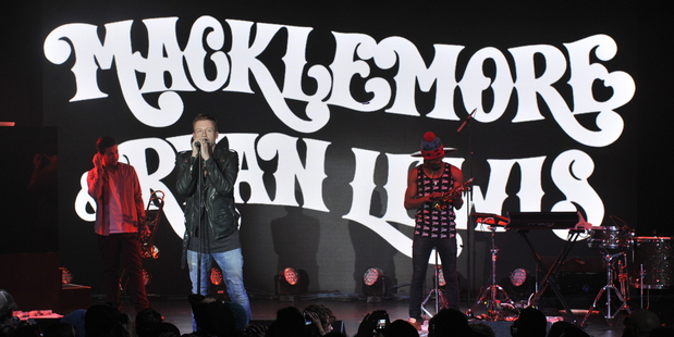 Macklemore & Ryan Lewis. File photo / AP