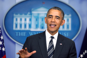 "US President Barack Obama hailed the deal as putting ""substantial limitations"" on Iran's nuclear program. Photo / AP"