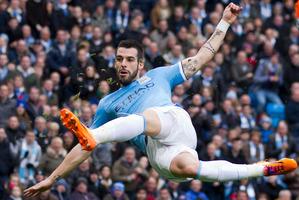 Manchester City's Alvaro Negredo. Photo / AP