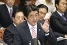 Japanese Prime Minister Shinzo Abe. Photo / AP