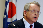 Ohio Attorney General Mike DeWine announces indictments against four additional people in relation to the 2012 rape of a high school student. Photo / AP