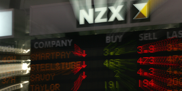 Almost  a billion dollars worth of shares changed hands on the NZ stock exchange yesterday. Photo / Brett Phibbs