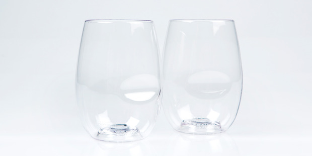 Govino stemless wine glasses are perfect for summer picnics or drinks outside.