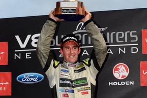 V8 SuperTourers Sprint series winner John McIntyre. Picture / Geoff Ridder