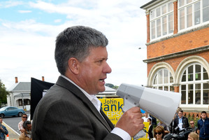 David Hay was the Green candidate for Epsom in 2011. Photo / Jason Dorday