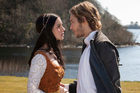 Adelaide Kane is Mary, Queen of Scots, and Toby Regbo is Prince Francis in <i>Reign</i>.