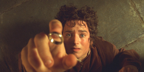 Elijah Wood's Frodo helped draw international attention to the ring. Photo / AP