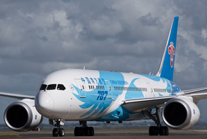 The Boeing 787 Dreamliner aircraft run by China Southern Airlines