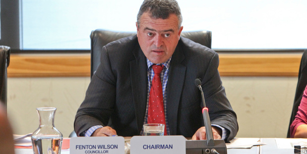 FORMAL: A request by Hawke's Bay Regional Council chairman Fenton Wilson for male councillors to wear ties was not taken up by Rex Graham and Tom Belford. PHOTOS/GLENN TAYLOR