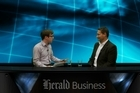 Business reporter Hamish Fletcher talks to Vodafone chief executive Russell Stanners