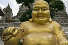 A statue of Buddha. Photo / AP