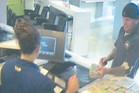CRIME PROCEEDS: Hamilton Seafoods operator Jason Abbott filters cash into TAB accounts.