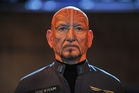 Ben Kingsley plays space military man Mazer Rackham in Ender's Game. Photo / Richard Foreman Jr