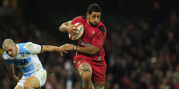 Loading Wales player Toby Faletau. Photo / Getty Images