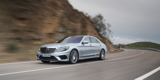 Mercedes-Benz have announced New Zealand will be getting the $330,000 S63 AMG. Photo / Supplied