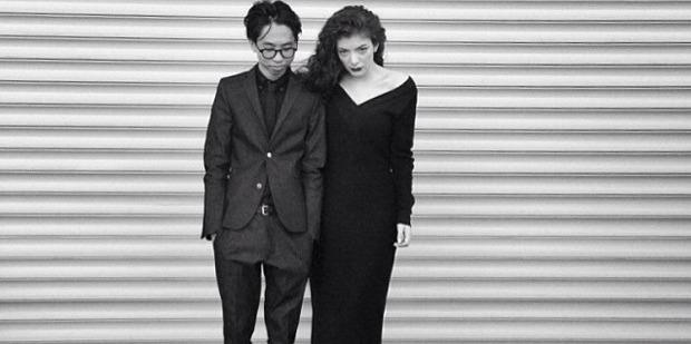 Lorde, pictured with boyfriend James Lowe, both wearing Zambesi. Photo / Zambesi Instagram