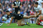 Roger Tuivasa-Sheck has been cleared of a fractured leg. Photo / Getty Images