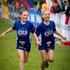 9-year-old girls Ella Lord (L) and Alice Barry after completing the Sanitarium Weet-Bix Kids TRYathlon at Mountford Park in Manurewa.  Photo / Sarah Ivey