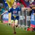 10-year-old Charlotte Cornwall completing the Sanitarium Weet-Bix Kids TRYathlon at Mountford Park in Manurewa.  Photo / Sarah Ivey