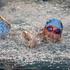 Kids participating in the swim section of the Sanitarium Weet-Bix Kids TRYathlon at Mountford Park in Manurewa. Photo / Sarah Ivey