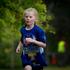 10-year-old Caitlin Kimpton running in the Sanitarium Weet-Bix Kids TRYathlon at Mountford Park in Manurewa. Photo / Sarah Ivey