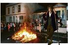 Martin Freeman as Bilbo Baggins at a Hyde St party in Dunedin. Digitally enhanced photo / Otago Daily Times
