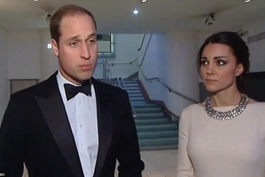 Prince William and Kate react to the death of Nelson Mandela.