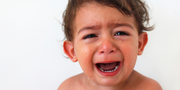 There are thousands of parents out there who have snapped their baby crying. Photo / Thinkstock