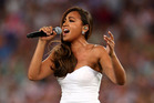 Australian songstress, Jessica Mauboy. Photo / Getty Images