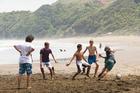 Beachlife at Piha. Photo / Michelle Hyslop