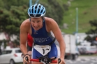 Mount local Rebecca Kingsford will be hard to beat at tonight's New Zealand Aquathlon Championships. Photo / File
