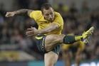 Under coach Ewen McKenzie's new hardline regime, Australia's Quade Cooper has been elevated to vice-captain. Photo / AP