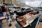 The Monaco Yacht Show. Photo / AP