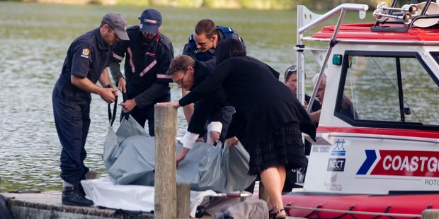 A father and daughter drowned at Lake Tarawera at the weekend. Photo / APN