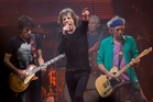 The Rolling Stones will be making their sixth visit to New Zealand in April. Photo / AP