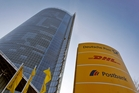 German postal provider Deutsche Post listed on the sharemarket in 2000 and in 2002 achieved full control of international package and logistics company DHL. Photo / AP