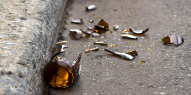 The students are believed to have been caught on security camera breaking bottles and urinating in the yard of the Crown Range holiday retreat. Photo / Thinkstock