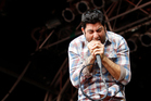 Deftones Chino Moreno performs at the Big Day Out 2011. Photo / Richard Robinson