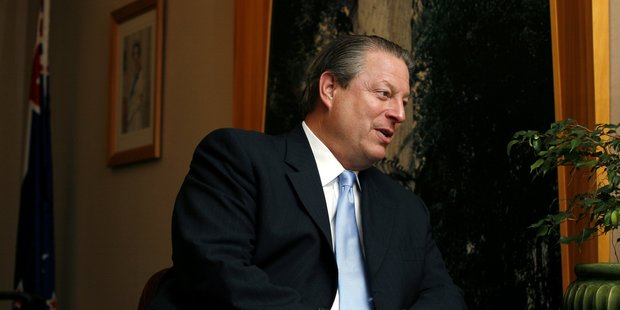 Former United States Vice-President Al Gore is a 'newly turned vegan'.  Photo / Dean Purcell