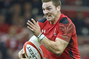 George North has power and pace. Photo / Getty Images