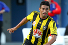 Wellington Phoenix midfielder Carlos Hernandez will be out for at least a week due to a 2.5cm tear in his quadriceps and will miss Friday's game against the Glory in Perth. Photo / Getty Images.