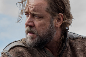 Russell Crowe as Noah in the upcoming Darren Aronofsky film Noah.