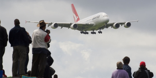 It's tough times for Australia's national carrier Qantas, which is complaining of an 'uneven playing field'. Photo / NZ Herald