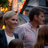 The Christmas lights were switched on at Franklin Road in central Auckland city by Team New Zealand America's Cup skipper Dean Barker. His wife Mandy Barker accompanied him.  Photo / Sarah Ivey